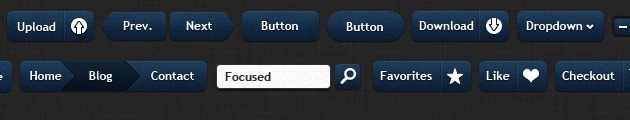 web Buttons graphic