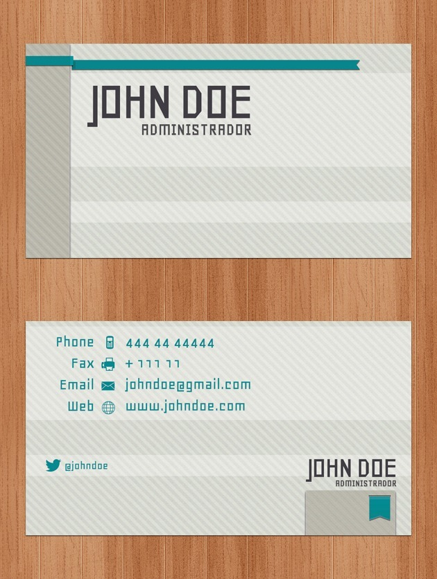 Company card cover