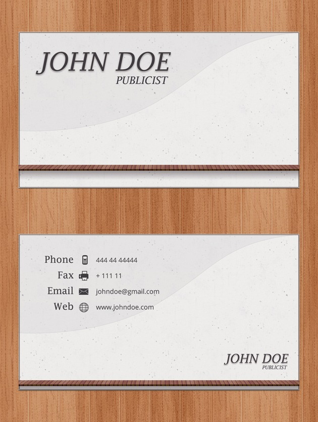 Nice Business card set