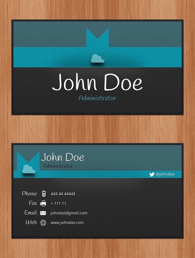 Business Cards PSD - Personal business cards templates