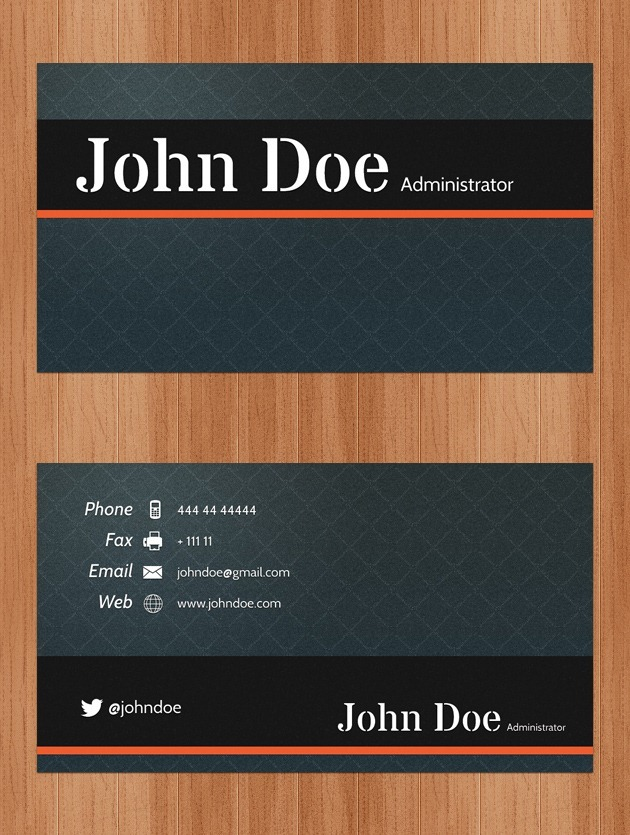 Nice Business card PSD