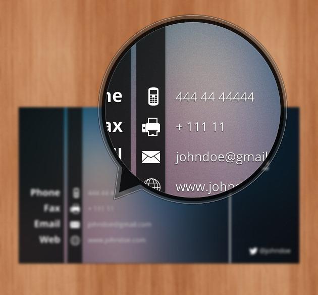 Minimalist Company card Professional