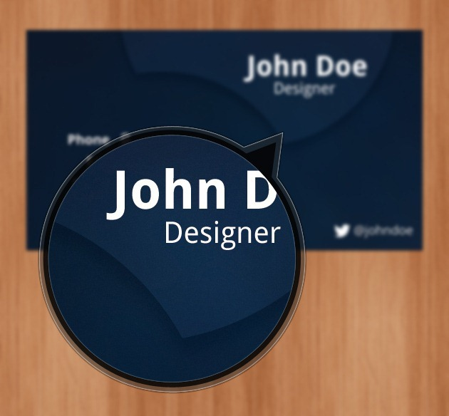 Minimalist Business card free