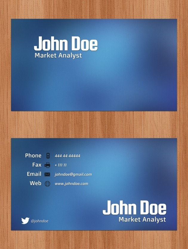 Nice Business card graphic