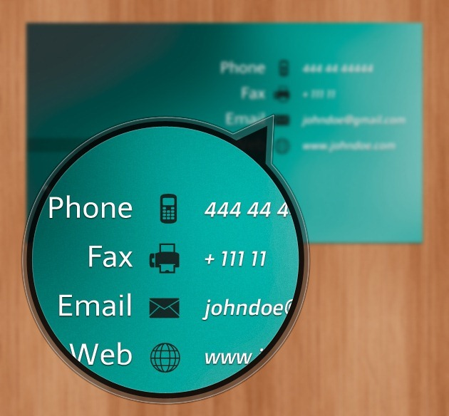 Minimalist Business card cover