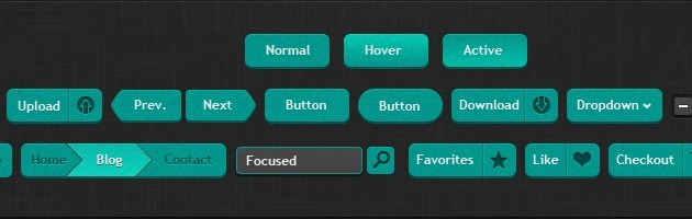 web Buttons kit
