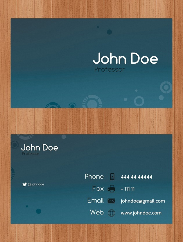 Nice Company card template