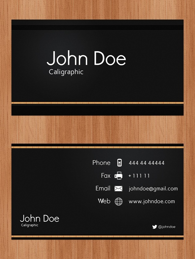 Nice Business card Professional