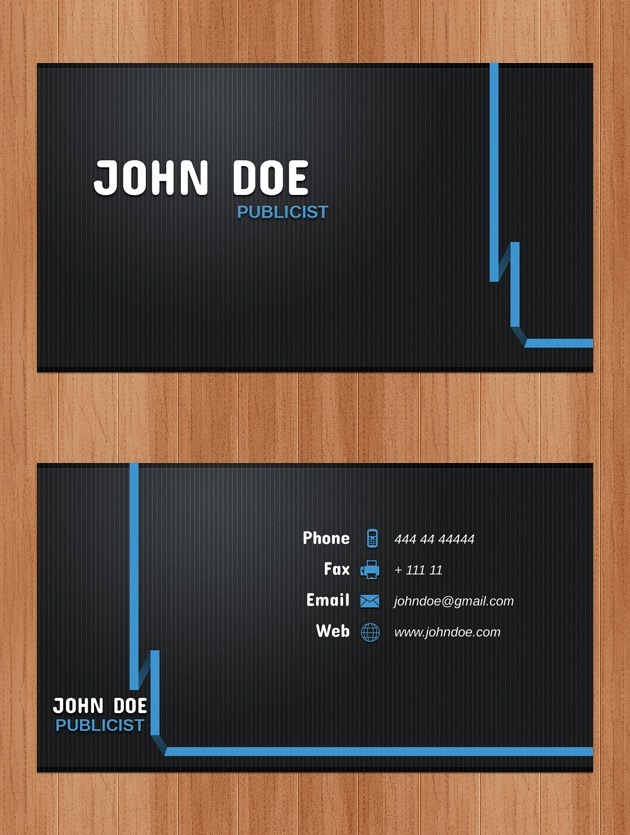 Nice Business card cover
