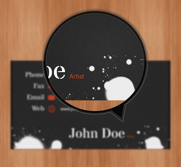 Cool Business card PSD