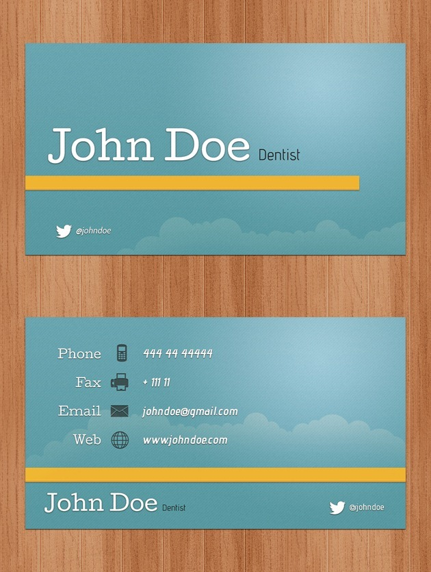 Nice Company card vector