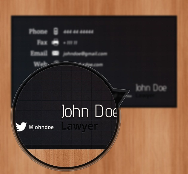 Cool Business card graphic