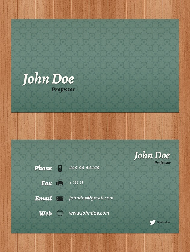 Cool Business card pack