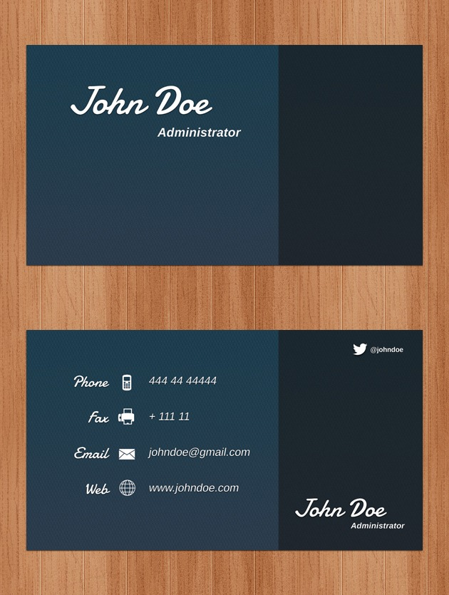 Business cards psd company card psd business card photoshop flashek Gallery