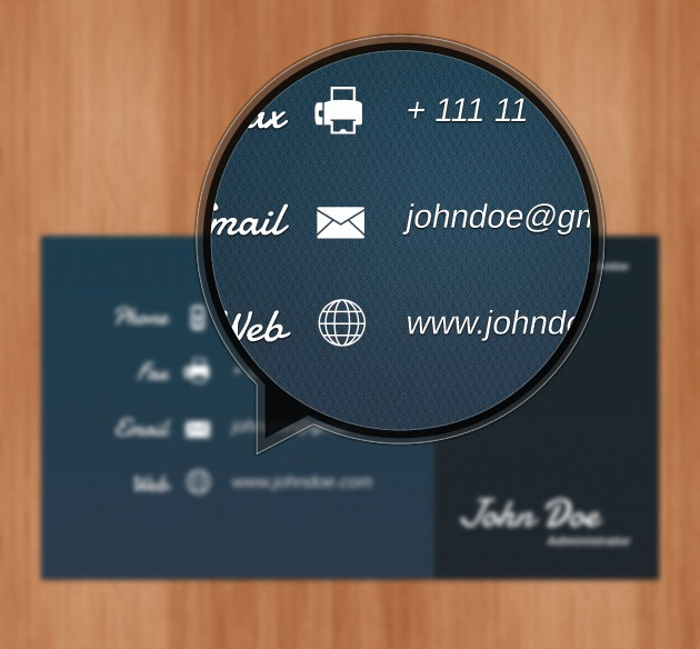 Cool Business card Professional