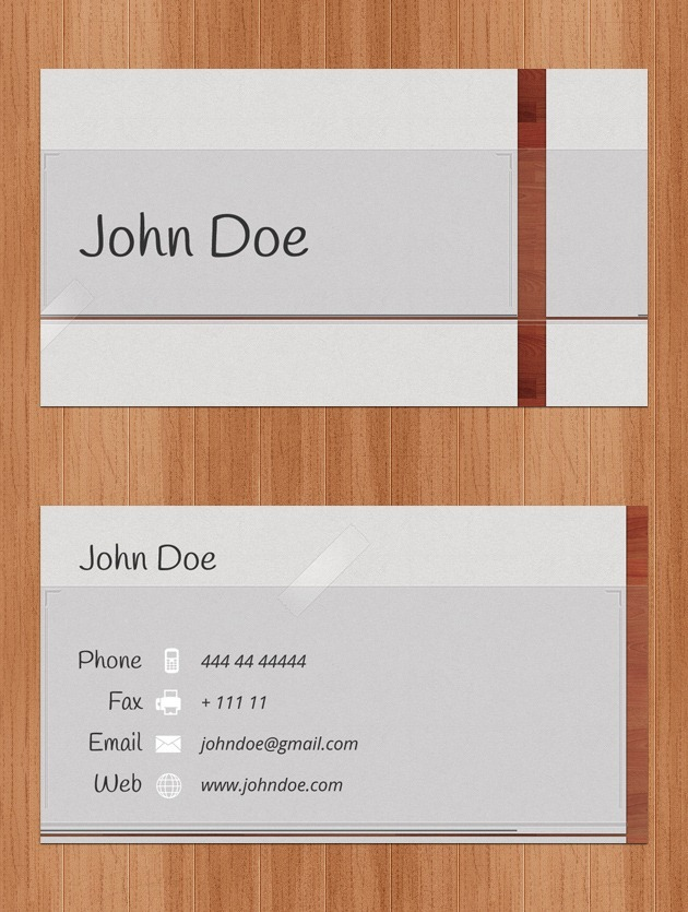 Company card Professional
