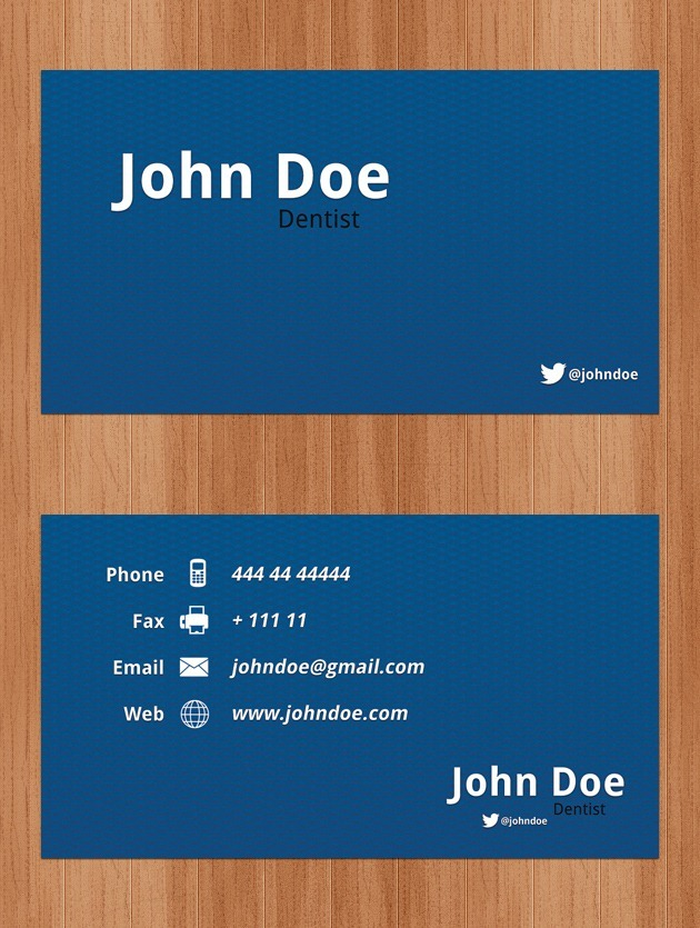 Company card graphic