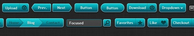 Nice Buttons design