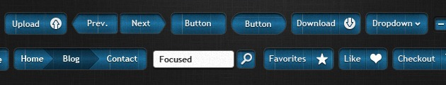 Cool Buttons vector