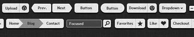Cool Buttons template