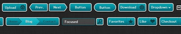 Awesome Buttons free