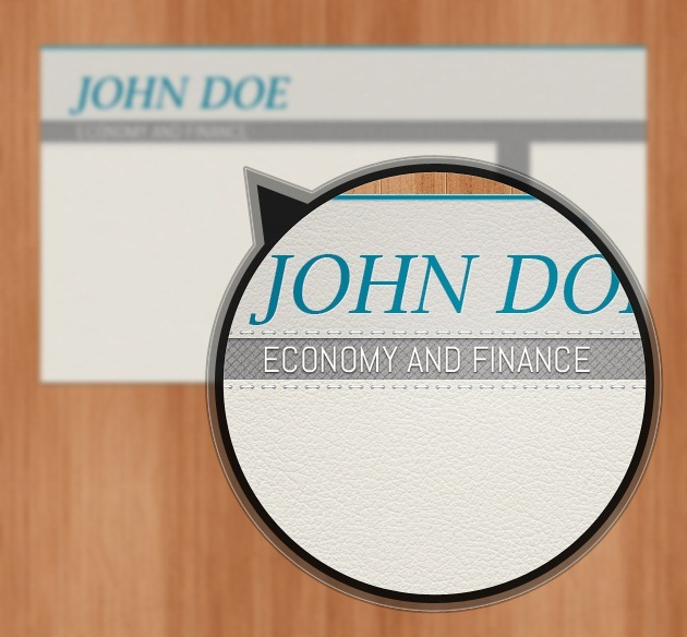 Cool Company card vector