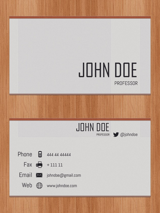 Typography Business Cards - skiro-pk-i-pro.tk
