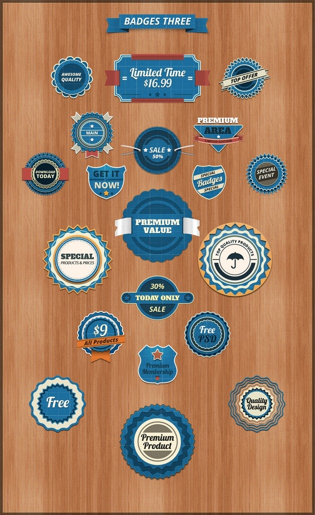 Badges graphic