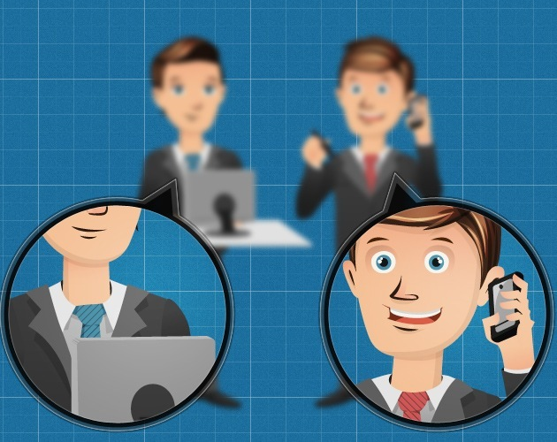 Business characters template
