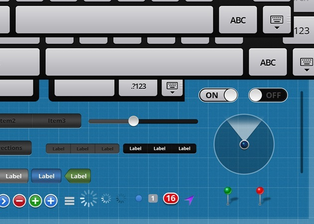 ipad Gui Elements