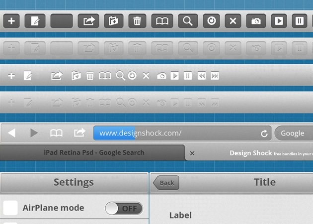 ipad Gui toolkit