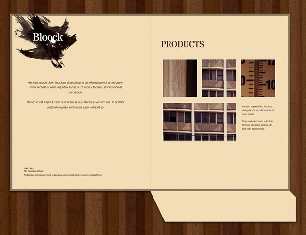 web design folder Photoshop