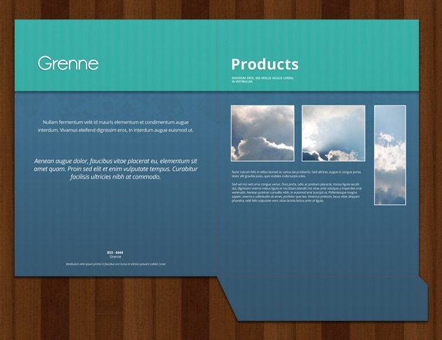 Folder templates brochure template folder template wajeb
