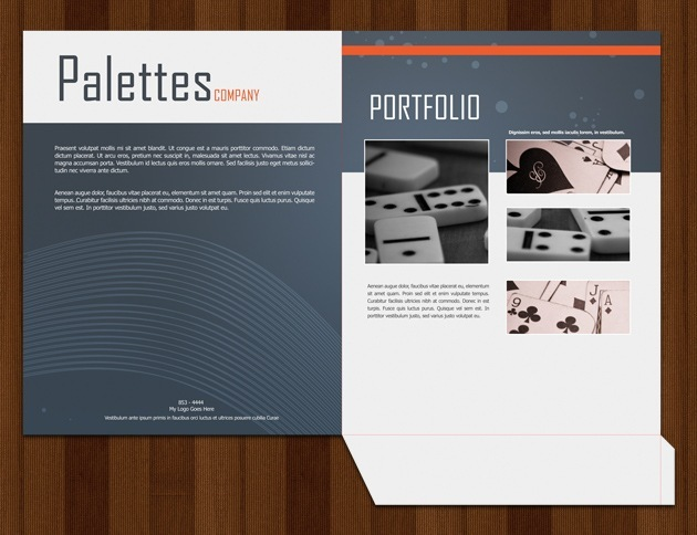Folder Templates - Psd brochure template