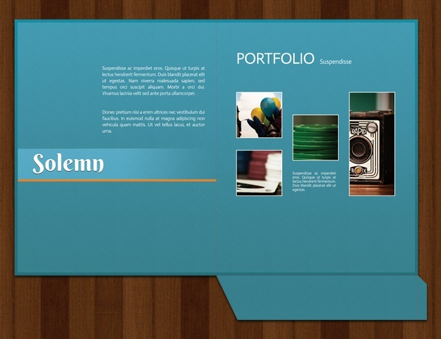 web design folder template