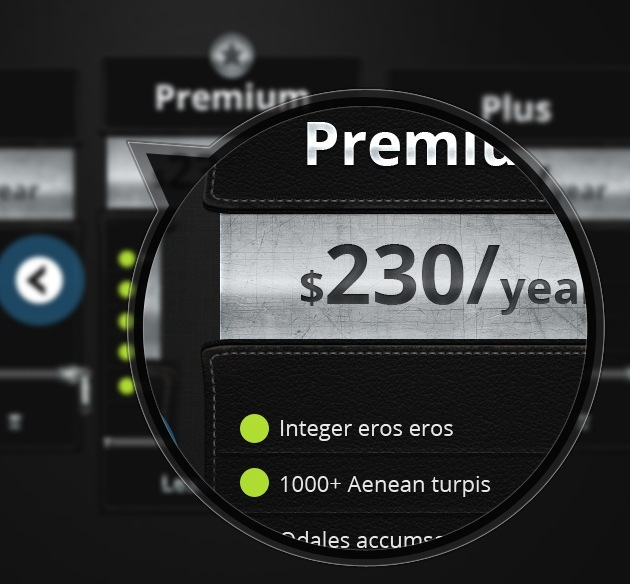 pricing table resource