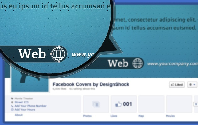 fb Cover page PSD