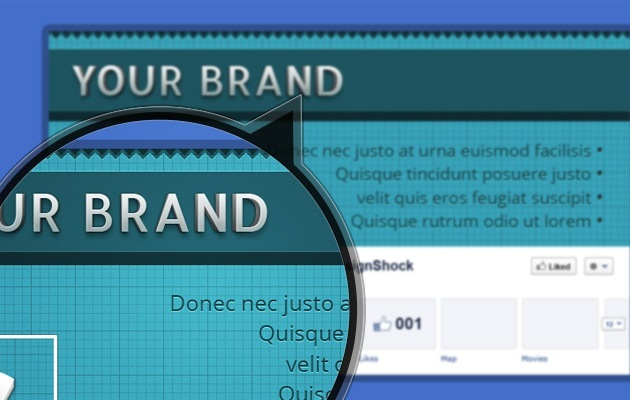 fb Cover company PSD