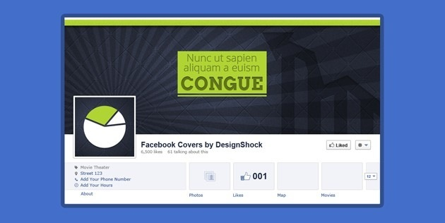 Sources Facebook Cover template