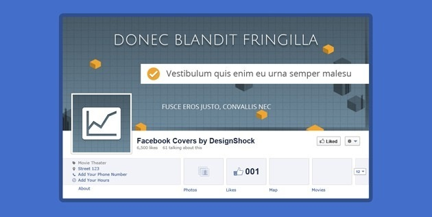 Facebook Cover tumblr template