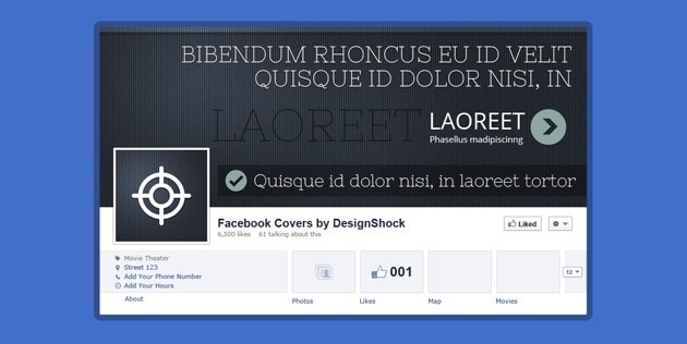 Nice Facebook Cover PSD Pack