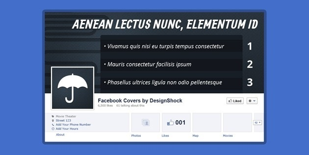 Nice Facebook Cover template