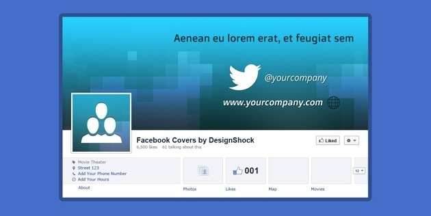 Facebook Covers PSD