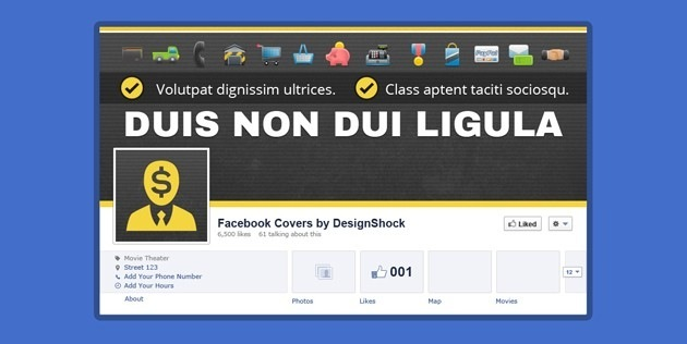 Cool Facebook Cover template