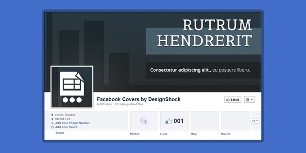 Free fb Cover template