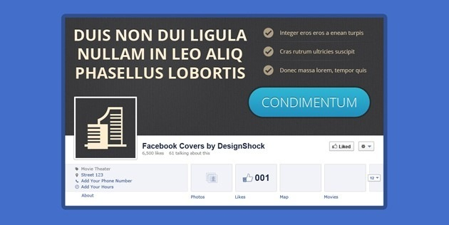 fb Cover page template