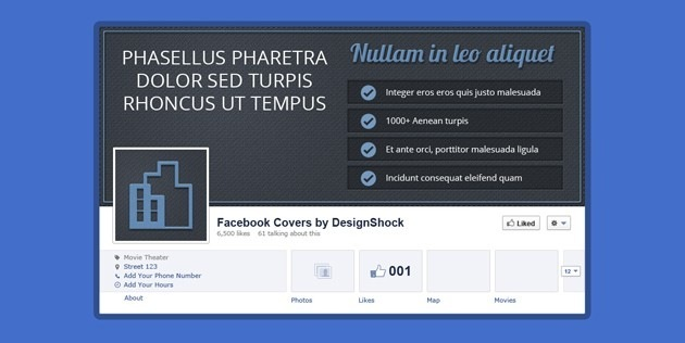 fb Cover pics template