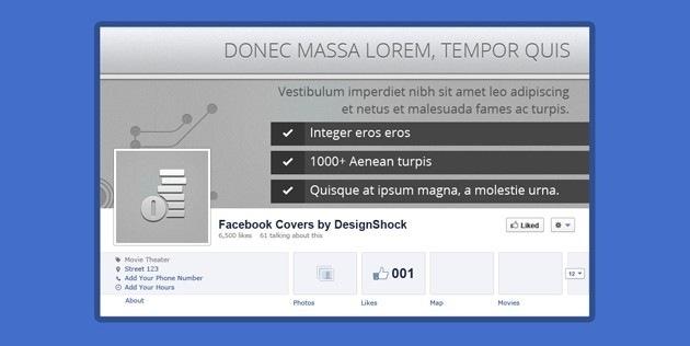 fb Cover tumblr template