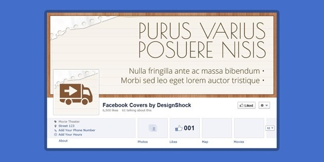 fb Cover banners template