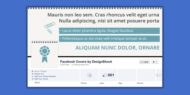 fb Cover company template